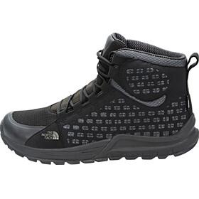 The North Face Mountain Sneaker Mid WP Schoenen Heren grijs/zwart